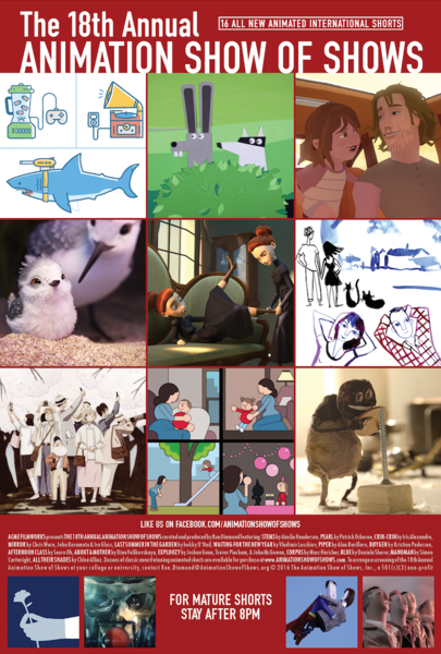 Image result for The 18th Annual Animation Show of Shows